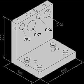 CKS Montagevorrichtung