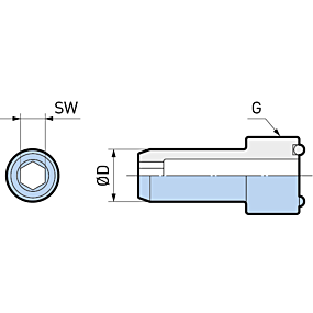Kühlmittelrohre Form A/E Monoblock Form A/E