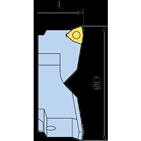 Porte-plaquette TW, type WC pour RSS et VPS